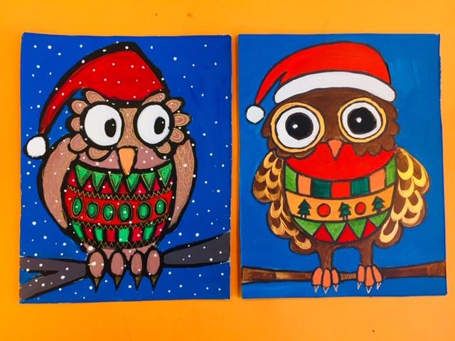 Foute Kersttrui C En A.Schattige Kerstuiltjes Met Foute Kersttrui Maken